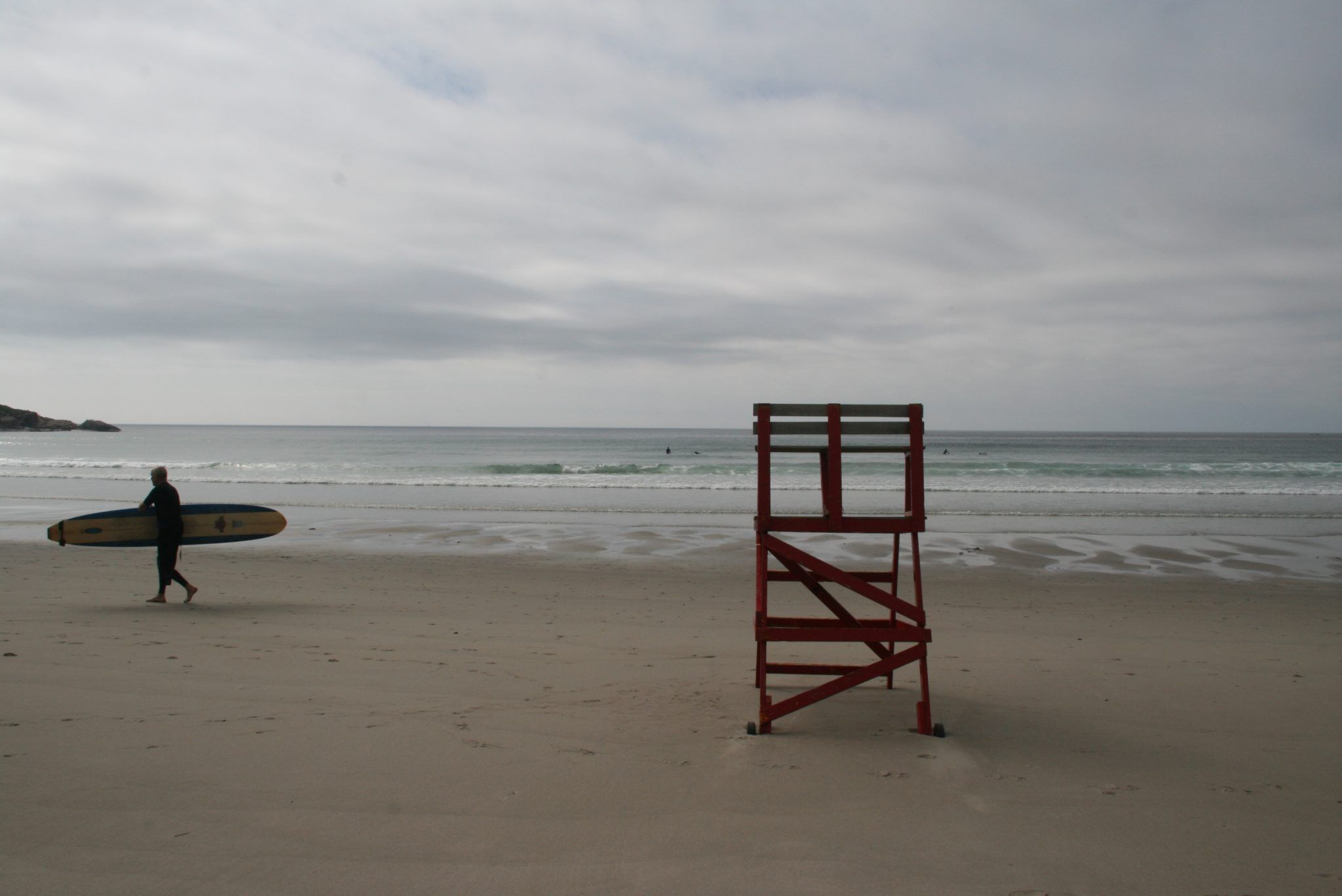 Good Harbor Beach in Gloucester, Massachusetts, Mass, Glosta, beach, lifeguard chair