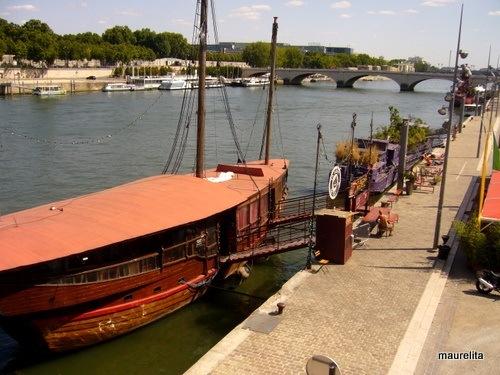 la Dame de Canton, Paris, rive gauche