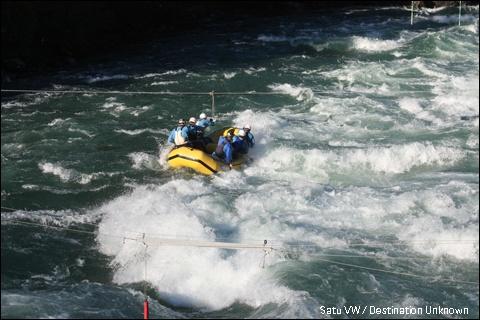 Rafting in Sjoa