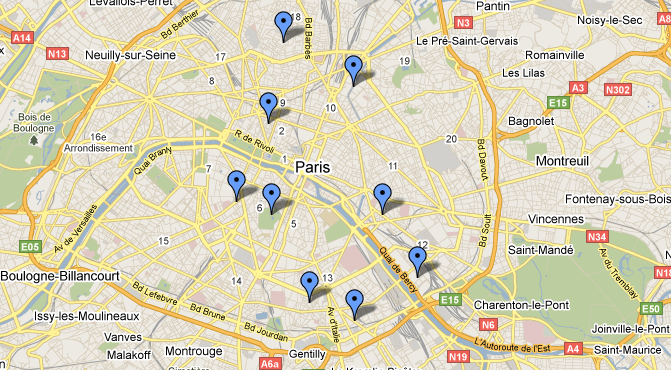Top Things To Do In Paris Skimbaco Lifestyle Online Magazine - What to see in paris map