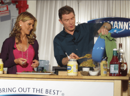 Bobby Flay cooking