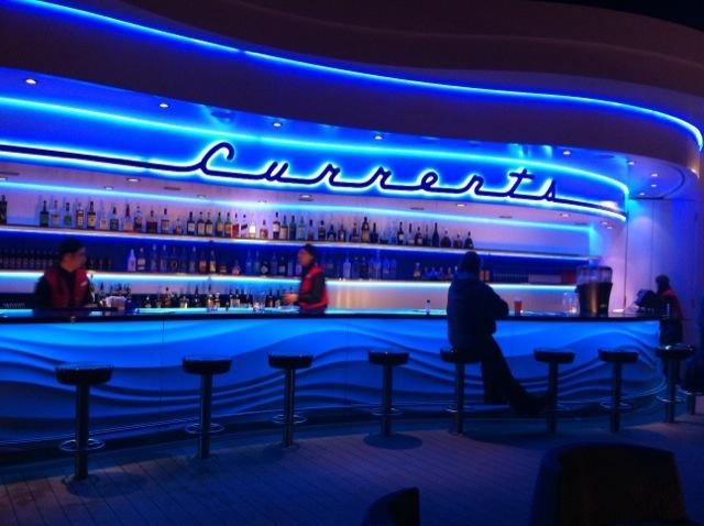 Currents Bar on Disney Cruise