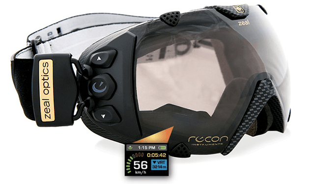 Zeal Optics SPPX Transcend GPS Enabled Snow Goggle with Spherical Polarized and Photochromic Lens,gps ski goggle, GPS enabled ski goggles