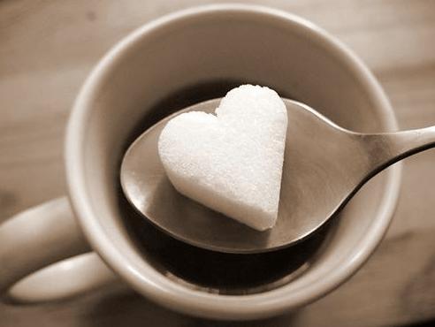 heart coffee cup