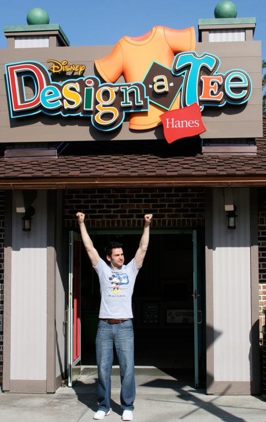 Travel Photo Of The Day Design A Tee Store On Downtown Disney on Florida Kitchen Design