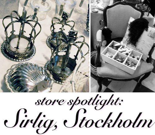 sirlig, stockholm, sweden, design store