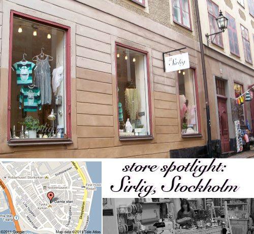 Sirlig, stockholm, design store