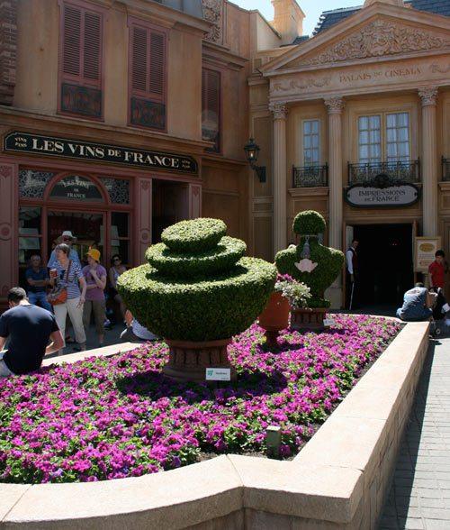 Epcot® International Flower & Garden Festival at DisneyWorld, HGTV flower & garden festival, DisneyWorld Special Events, Epcot flowers, Guerlein in France, Guerlain flowers, perfumes