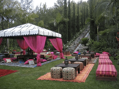 Backyard Party Theme  Moroccan Nights   Skimbaco Lifestyle online UXtvQVFE