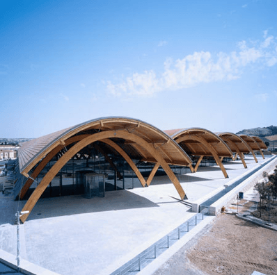 modern winery, architecture in wineries