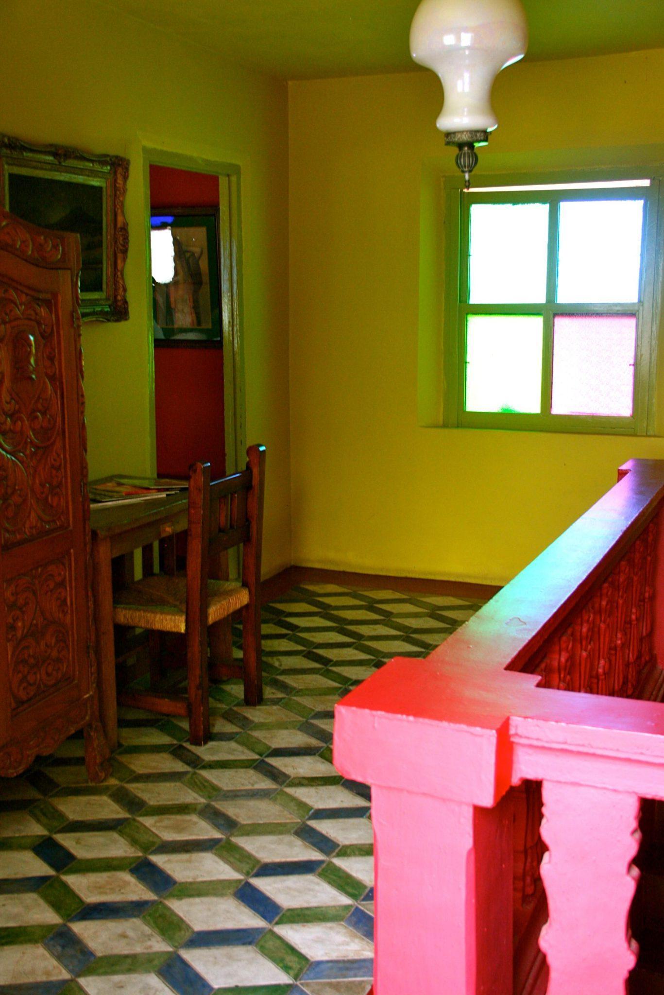 Modern Coffee Shop Design On Mexican Colorful Interior Design