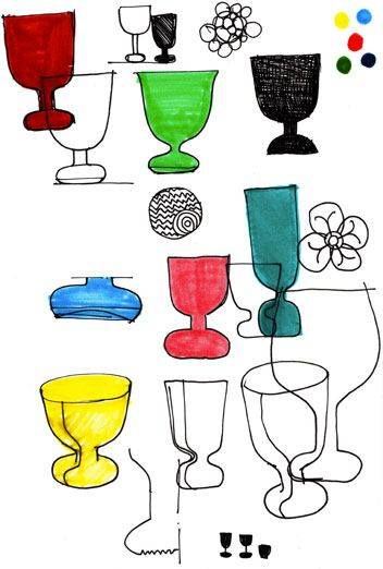 Iittala Lempi Glass Designed by Matti Klenell, lempi lasi, Iittala, everyday glass, wine glass, designer stackable glass