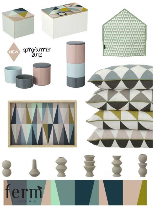 ferm living 2012 spring summer collection skimbaco. Black Bedroom Furniture Sets. Home Design Ideas