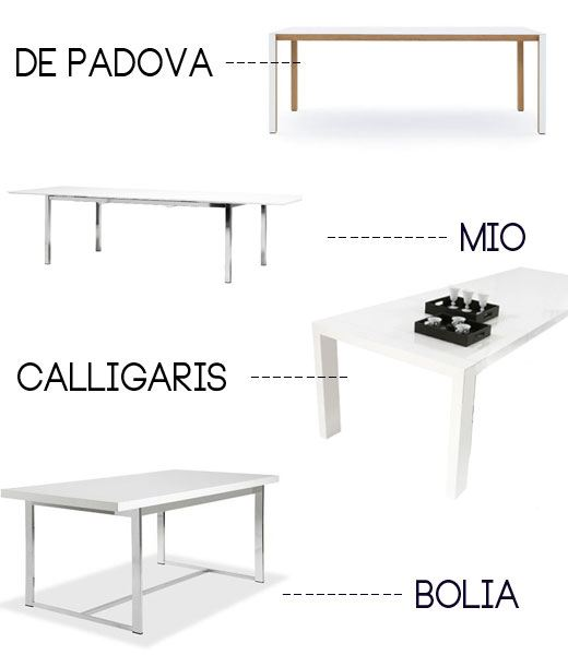 modern white dining tables, shopping, swedish dining tables