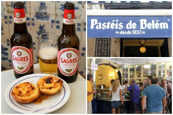 Pasteis de belem in Lisbon, Portugal by @SatuVW