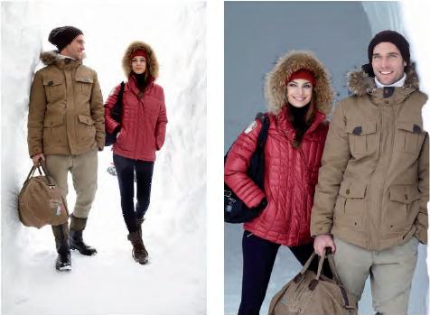 Dolomite 2012-2013 winter collection, apres ski clothes