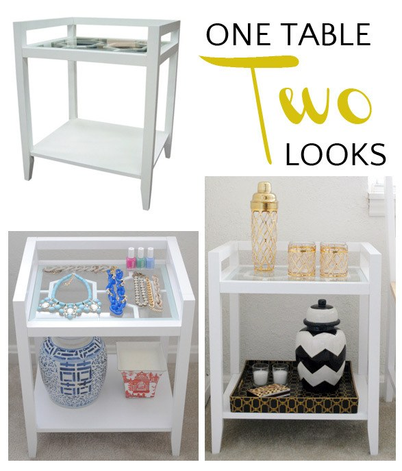 One table - two looks!