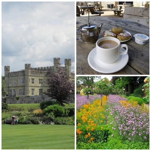 Castles, gardens and Cream Team