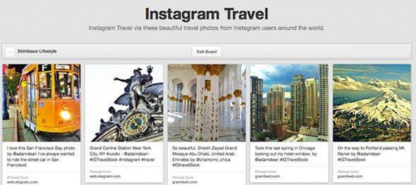 pinterest-instagram-travel-board