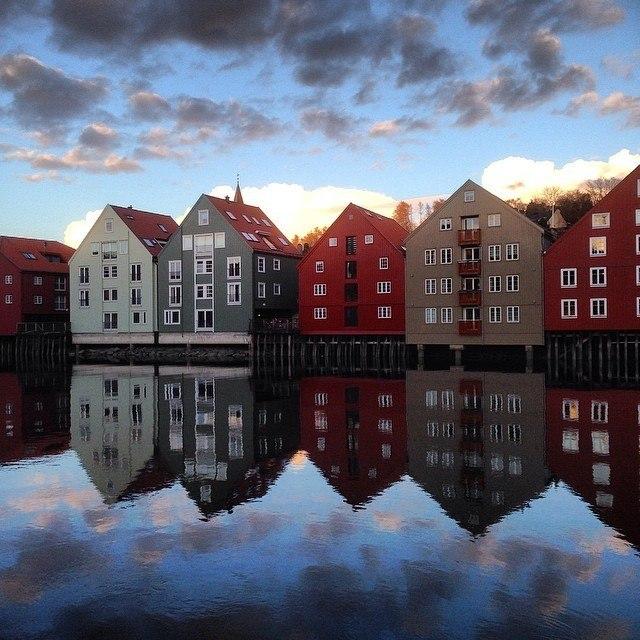 Norway's Trondheim by houseofanais on instagram   http://instagram.com/houseofanais