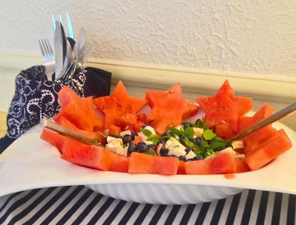 melon-salad