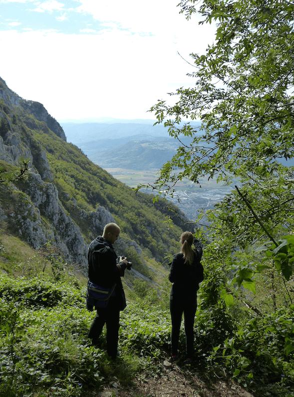 Slovenia hiking