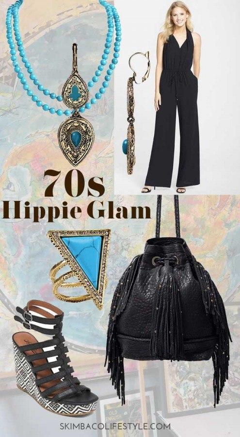 Hippie Glam style