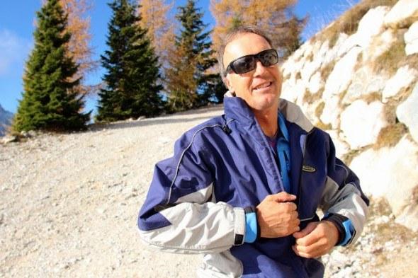charlie ski instructor in italy