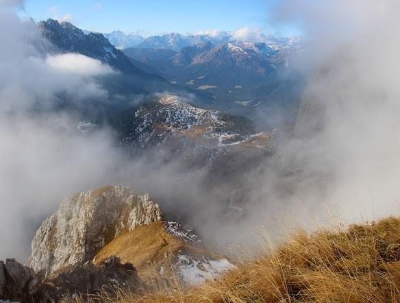 climbing mountains in italy
