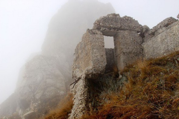 ruins in italy