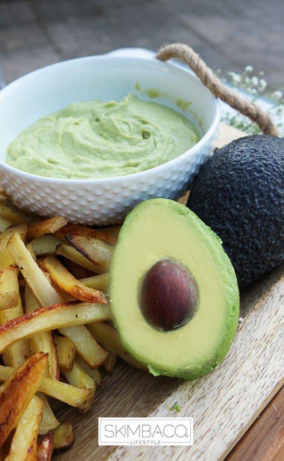 Avocado-lovers summer party menu.