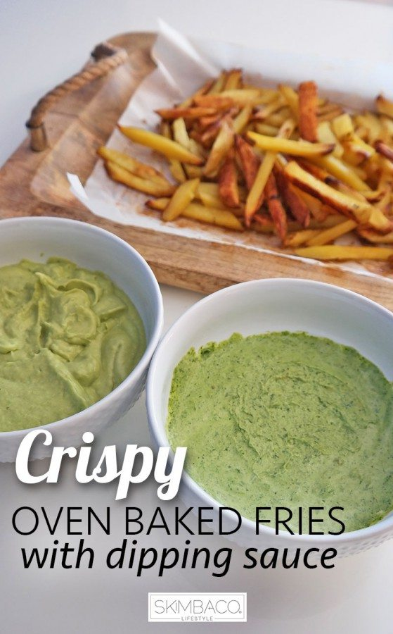 crispy-oven-baked-fries-with-dipping-sauces