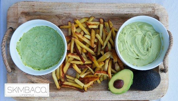 oven-baked-fries-and-dipping-sauces