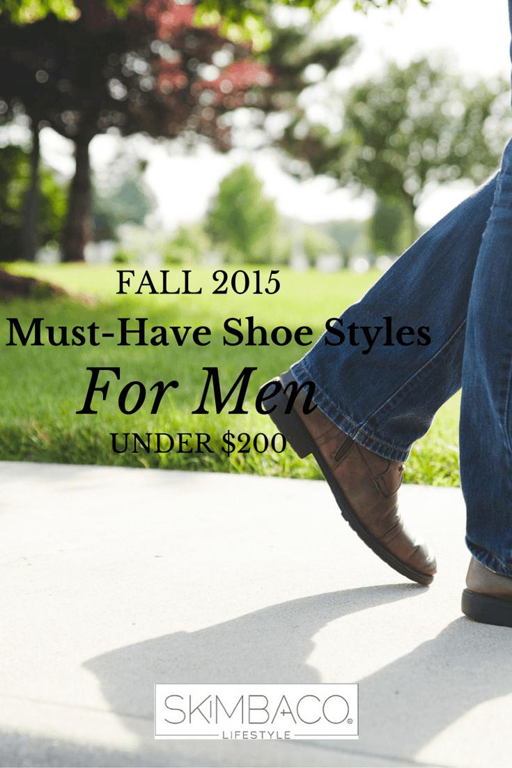 Men Fall 2015 Shoes