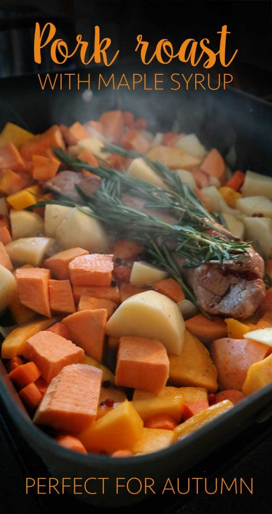 Trick how to make this pork roast with maple syrup in a little over an hour!