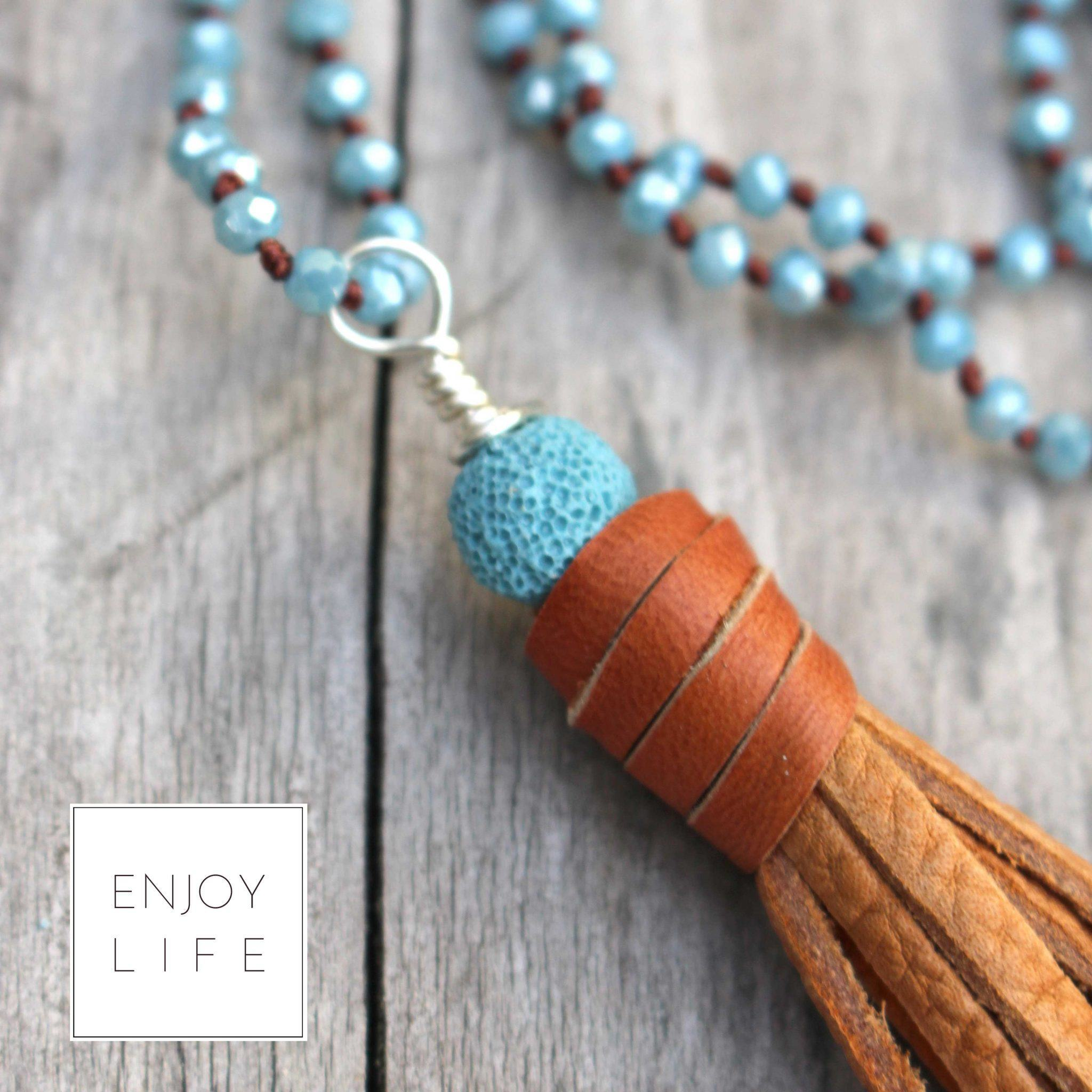 Bohemian Chic diffuser jewelry collection from @skimbaco