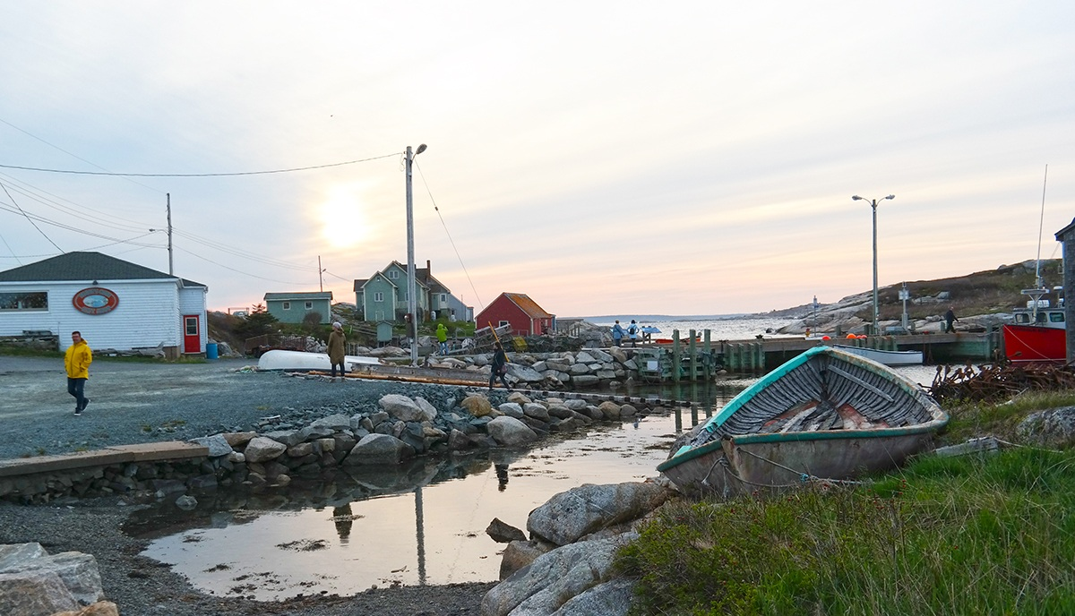 Peggy's Cove with Dad
