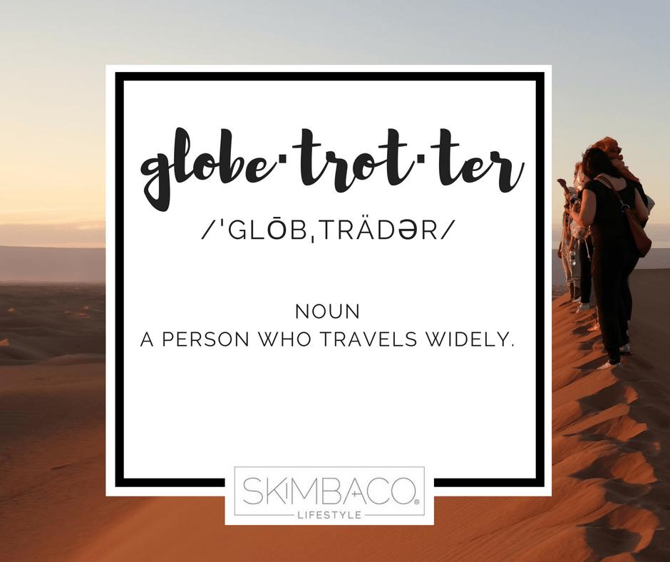 definition of globetrotter