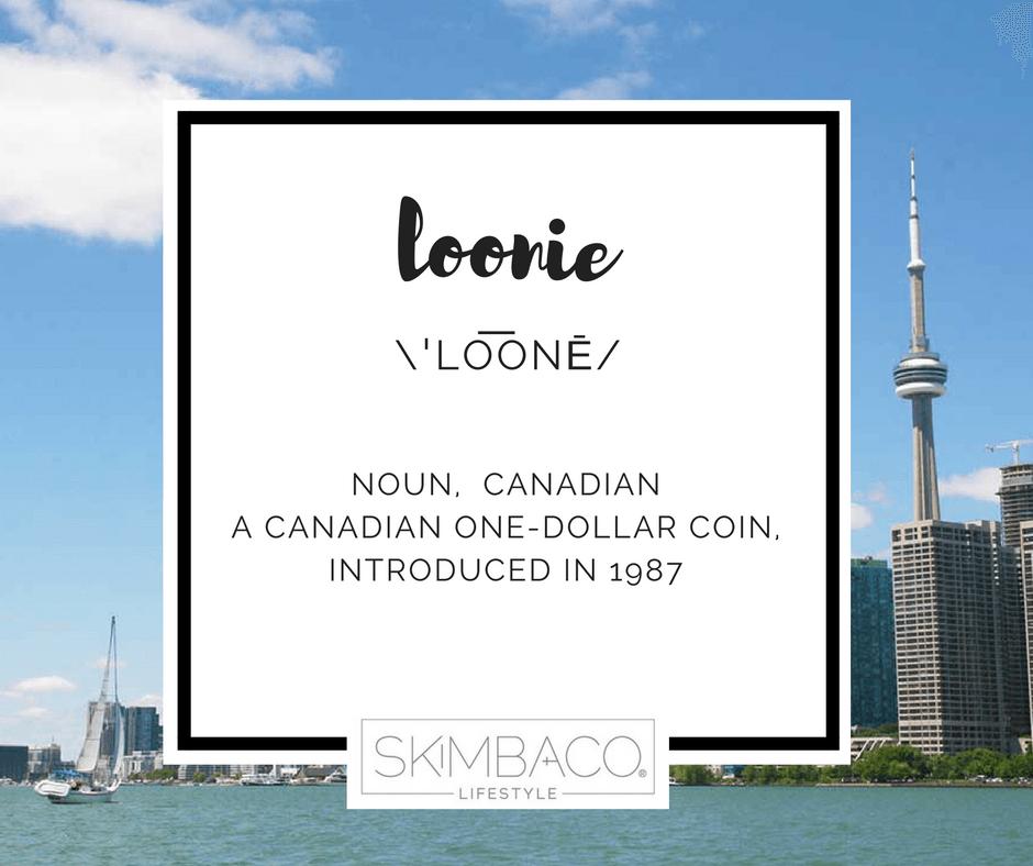 Loonie - Canadian one dollar